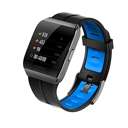 X1 Smartwatch Herren 1,3-Zoll-Legierung Box Ip68 wasserdicht eherzfrequenz Monitor 30-Tage-Standby SmartWatch China Blau