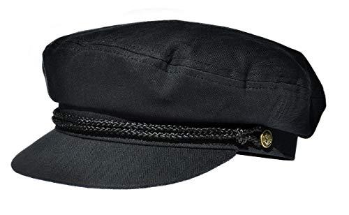 Balke Fisherman Style Heringbone Schwarz Größe XL