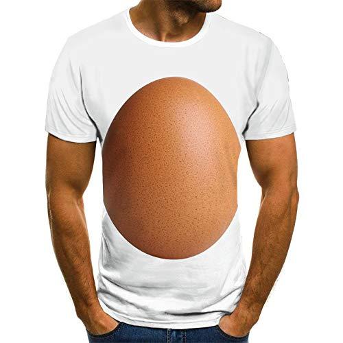 Hombre Camisetas Hombre Camisetas Unisex 3D Printed Summer Casual Short Sleeve Round Neck Tops Camisetas, Personalidad Patrón De Mesa De Color Creativo Streetwear De Hombre, para Viajes Beach Runnin