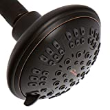 ShowerMaxx, Luxury Spa Series, 6 Spray Settings 4.5 inch Adjustable High Pressure Shower Head, MAXX-imize Your...