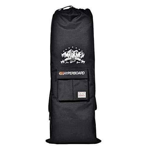 Funnyfeng Elektrische rugzak, waterdicht, voor scooters, skateboard-tas, van Oxford-weefsel, dubbele rugzak, bescherming tegen omvallen, van siliconen, bestand tegen slijtage (lengte: aanpasbaar