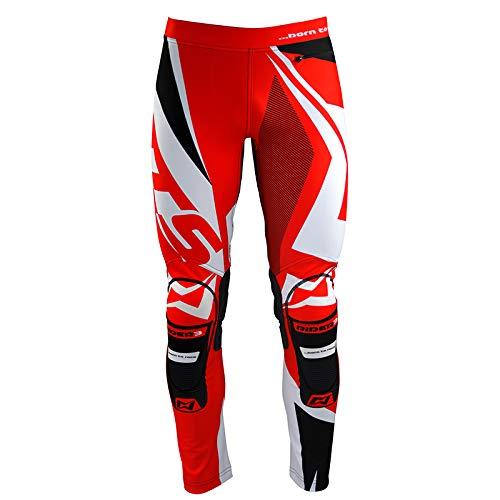 Mots MT3112LR Trial Rider3 Pantalon, Rojo, Talla L
