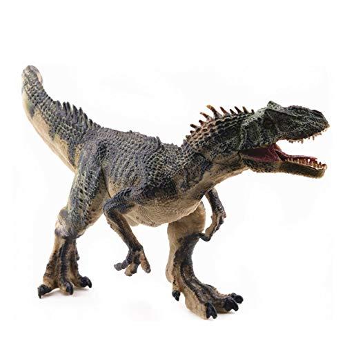 YUIO Simulation Allosaurus realista modelo de dinosaurio de juguete figura figuras de acción decoración del hogar juguetes educativos para niños (verde)