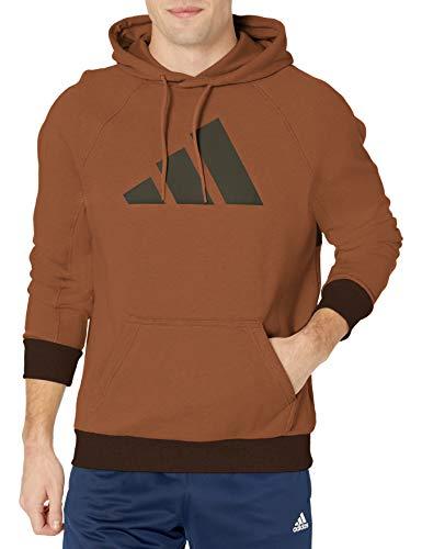 adidas,Mens,BIC Hoodie,Wild Brown,Large