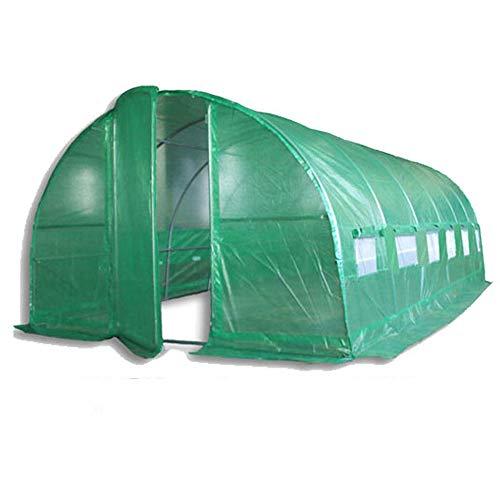 Tres tamaños (3m x 2m, 4m x 2m o 6m x 3m) Cubierta de repuesto solo, sin marco para túnel invernadero de polietileno. Politúnel de plástico, invernadero de plástico, túnel de polietileno. (6 m x 3 m)