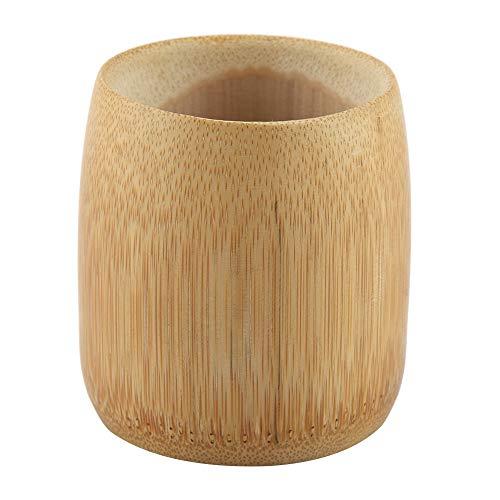 Natural Pure Bamboo Tea Cup Wooden · Taza de té hecha a...