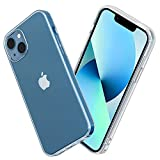 NEW'C Funda para iPhone 13 Mini (5,4'), Anti-Choques y Anti-Arañazos, Silicona TPU, HD Clara