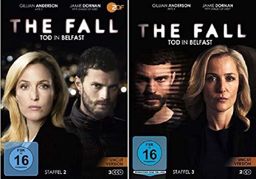 The Fall - Tod in Belfast Staffel 2+3 / Uncut [DVD Set]