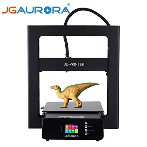Imprimante 3D avec écran tactile couleur 2,8 pouces, cadre en métal 12x12x 12,6 pouces Build volume et lit chauffé grande taille d'impression 305X305X320mm, reprendre l'impression de panne de courant