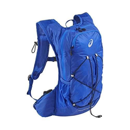ASICS Unisex_Adult Lightweight Running Backpack Daypack, Mako Blue, one size
