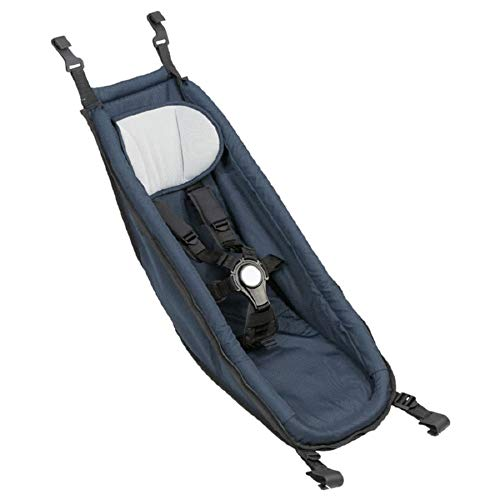 Croozer Unisex– Erwachsene Babysitz-3092024998 Babysitz, blau, One Size