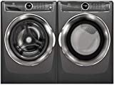 Electrolux Titanium Front Load Laundry Pair with EFLS627UTT 27 Washer and...