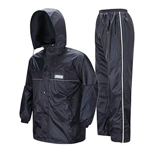 Guyuan Pantalones de Lluvia Pantalones de Lluvia Conjunto Malla Transpirable Hombres y...