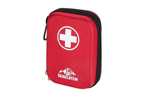 *GEIGELSTEIN Erste Hilfe Set Kompakt, Made in Germany, mit Edelstahl Pinzette, gratis E-Book*