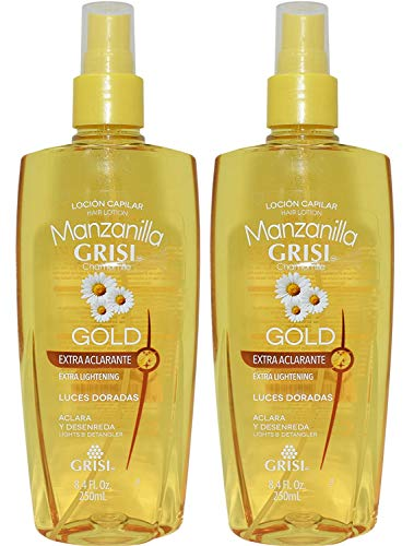 Grisi Chamomile Hair Lotion Manzanilla Lightens & Detangles 8.4 oz.. (2 Pack).. HPVagr by Grisi
