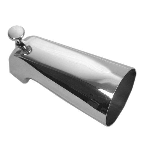 DANCO Bathroom Tub Spout with Front Pull Up Diverter, Chrome Finish, 1-Pack (88052) (Ips Diverter)