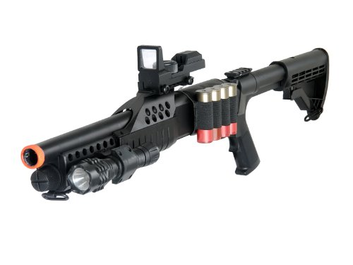 airsoft shotgun with spring pump action(Airsoft Gun)