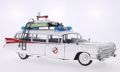 Cadillac Ecto-1, Ghostbusters, 1959, Modellauto, Fertigmodell, Mattel 1 18