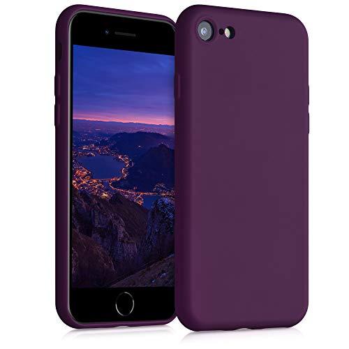 kwmobile Hülle kompatibel mit Apple iPhone 7/8 / SE (2020) - Handyhülle Handy Hülle in Bordeaux Violett