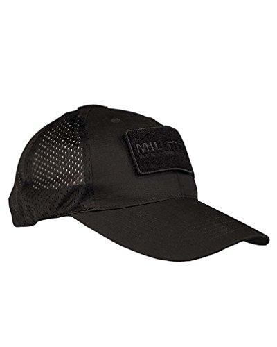 Mil-Tec Baseball Cap Netz schwarz