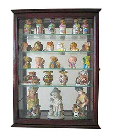 Display Case for lego Minifigures  Wall Cabinet Shadow Box holds 44 figures PVC