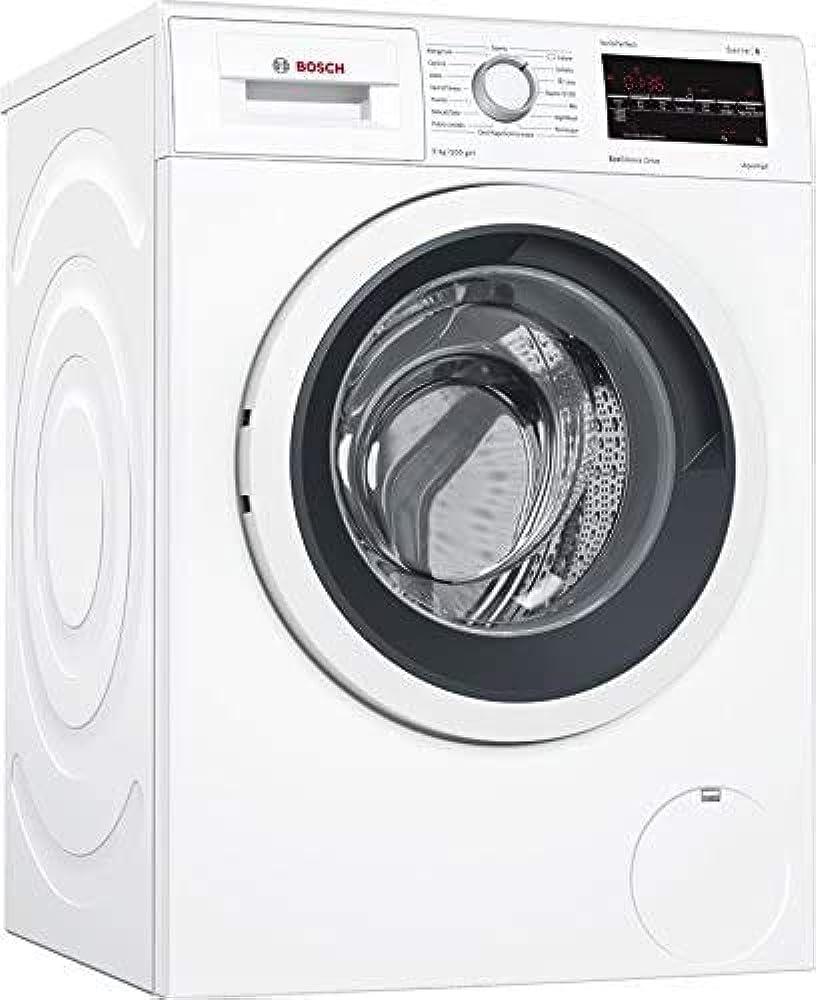 Bosch serie 6, lavatrice,carica frontale 9kg 1200giri/min a+++ WAT24439IT