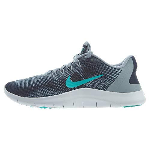 Nike Women's Flex 2018 RN Running Shoe (8.5 B US, Obsidian Mist/Hyper Jade)