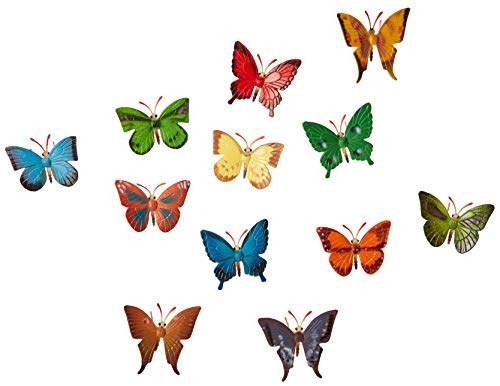 US Toy Mini Butterflies Action Figure (2-Pack of 12)