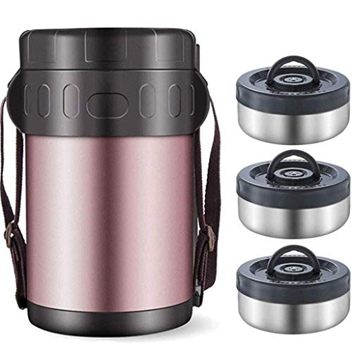 Soep Fles met handvat Thermosfles RVS Thermische isolatie Lunch Box etensketeltje Portable Box for Travel School (Size : 1.5L)