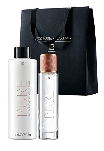LR Pure SET by Guido Maria Kretschmer Eau de Parfum for Women 50ml plus Body Lotion 200ml