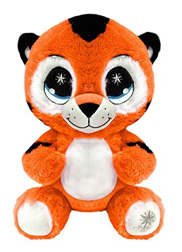 Peek A Boo Toys Terry The Tiger Stuffed Animal Plush Toy Gift | Orange Soft 15 Terry The Tiger