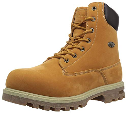 Lugz Men's Empire Hi WR Thermabuck Boot, Golden Wheat/Bark/Cream/Gum, 14 D US