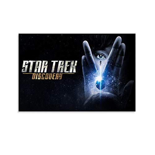 GANGPAO Star Trek Discovery TV Plakat Poster 1 Leinwanddruck Kunstwerk Wandkunst Dekor Poster für moderne Wohnungen, Büro, Schlafzimmer