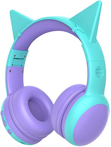 41Rpi98iZQL. SL500  - SIMOLIO Kids Headphones Bluetooth