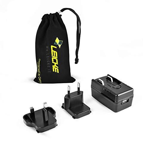 LEICKE ULL medizinisches USB-Netzteil 5 V 2 A   TÜV/Medizinisch Zertifiziert   Ideales Ersatz-Netzteil für Friwo FOX6-XM-USB   Ideal für Geräte zur Diagnose, Behandlung und Überwachung von Patienten