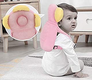 STOP N SHOP™ Baby Head Protector for Crawling or Corner Guard, Protection Helmet and Infant Headrest Pillow with Front Safety Lock