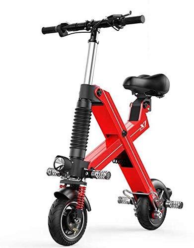 PARTAS Sightseeing/Commuting Tool - Leicht und Aluminium Folding E-Bike, Hilfskraftunterstützung und 36V Lithium-Ionen-Batterie-elektrisches Fahrrad mit 8 Zoll Räder und 240W Naben-Motor