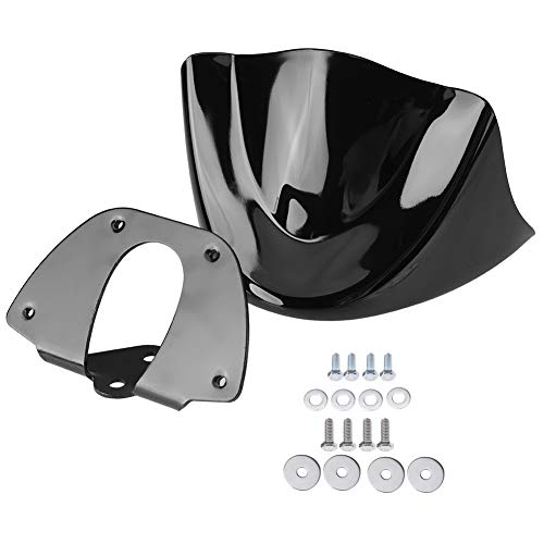 aqxreight - Guardabarros delantero para motocicleta, guardabarros delantero para motocicleta, carenado de aire, parabrisas, compatible con 2006-2017