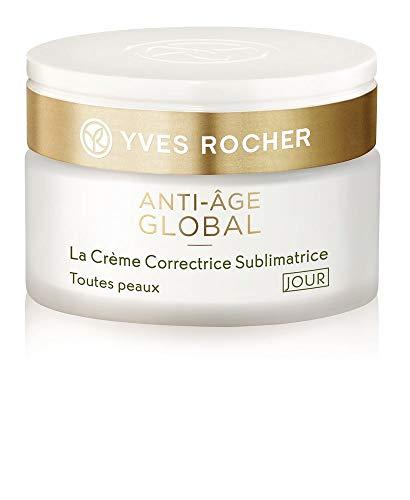 Yves Rocher ANTI-AGE GLOBAL korrigierende Schönheits-Creme Tag für alle Hauttypen, Anti-Falten...