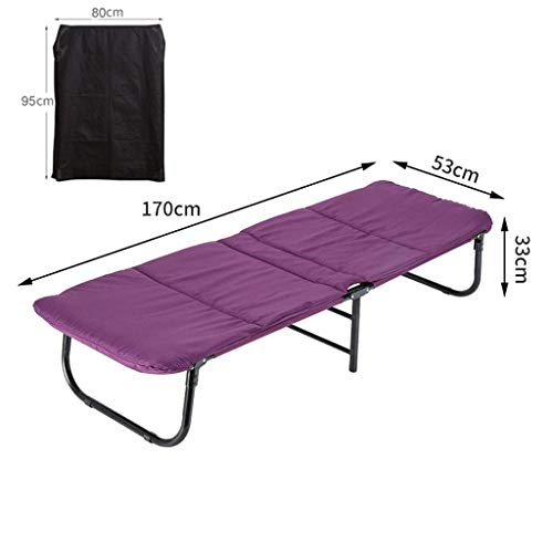 haozai opklapbed campingbed bed gastenbed metalen frame met matras zwaar gewicht capaciteit draagbare opvouwbare Twin size Rollaway voor volwassenen, kinderen