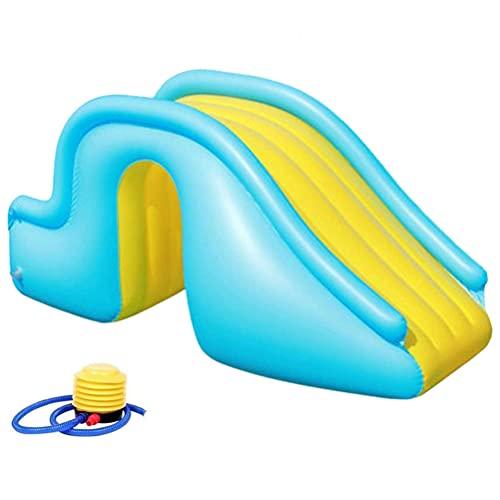 BSTEle Opblaasbare waterglijbaan opblaasbare zwembad glijbanen zomer zwembad benodigdheden indoor outdoor water spelen…