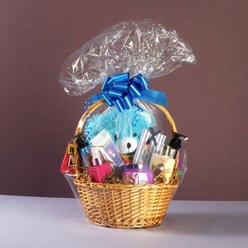 Envoltorio de celofán mágico 71,12 cm x 101,6 cm para cesta de regalo para/juego de cesta paquete de tamaño Extra grande (5 bolsas) (se vende por separado más pequeños juego de cesta)
