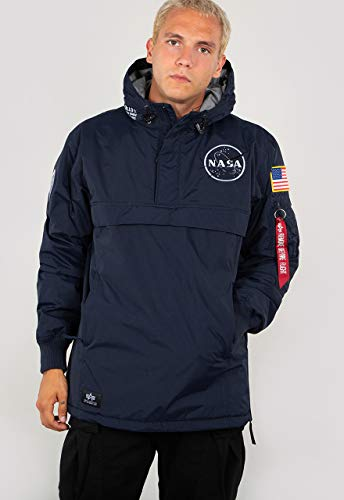 Alpha Industries NASA Anorak Veste d'hiver repl. Blue