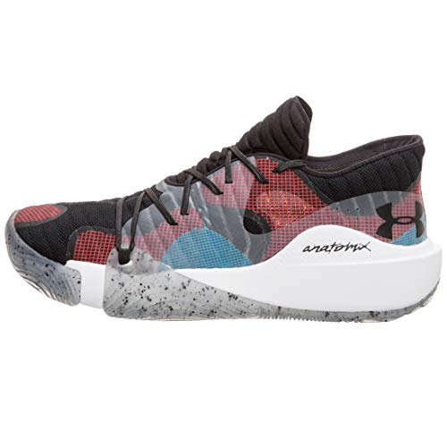 Under Armour Zapatillas de Baloncesto UA Anatomix Spawn Low, básquetbol Hombre, Black, 47.5 EU