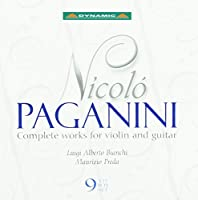 Complete Works For Violin & Gu by NICOLテ PAGANINI (2004-10-26)