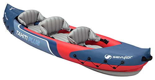 Sevylor Tahiti Plus Kayak, Multicolore, 361 x 90 cm