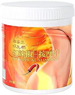Cloverclover Corps femmes poivron rouge 1000G amincissant perte poids rapide graisse femmes creme