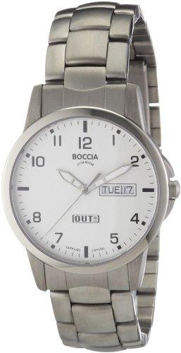 Boccia Herren-Armbanduhr Titan 604-09