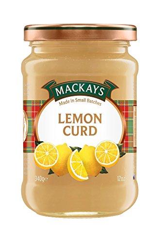 Mackays Lemon Curd 340g Glas (Zitronen-Creme)