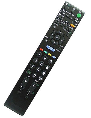 ALLIMITY RM-ED016 Fernbedienung Ersetzen für Sony Bravia TV KDL-40W5800 KDL-40W5730 KDL-46W5820 KDL-32W5710 KDL-52W5500 KDL-32W5830 KDL-46EX1 KDL-32V5500 KDL-32W5730E KDL-32V5610